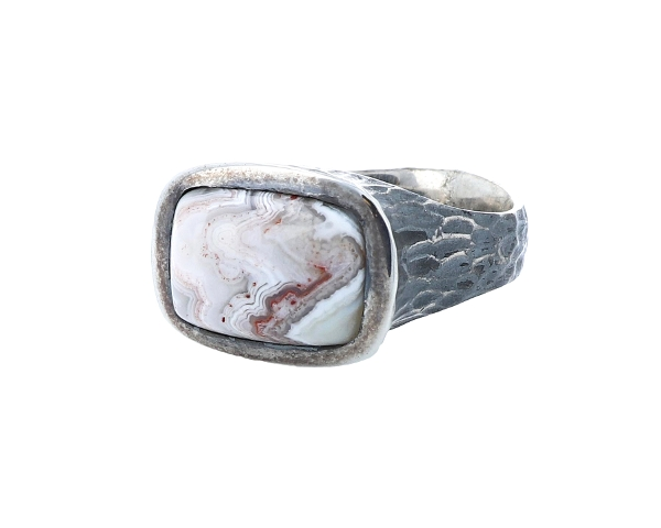 Lace Agate Ring